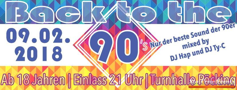 90er Party Pöcking - 90's - Klangrausch 2018